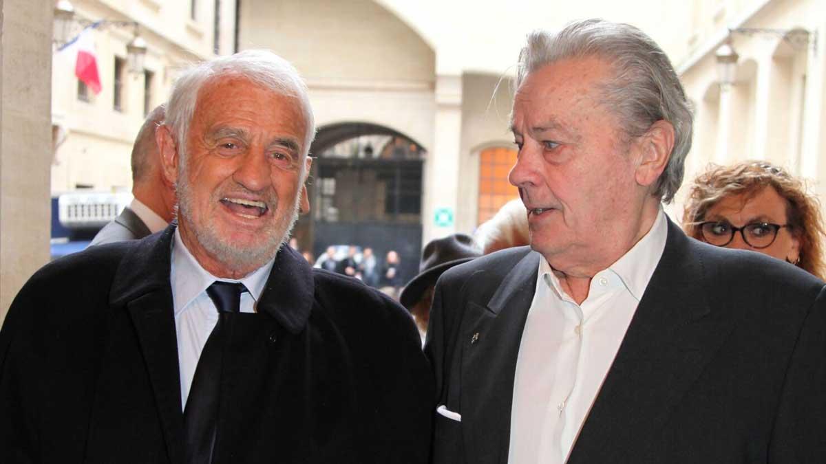 Alain Delon : cette raison pour laquelle il n'a pas participé à l'hommage national dédié a Jean-Paul Belmondo !