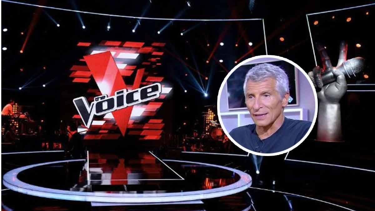 """Taclée par Nagui, la production de """"The Voice de TF1 répond cash !"""